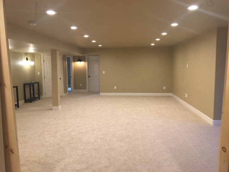 spacious basement finishing in Fort Collins - NoCo Basements